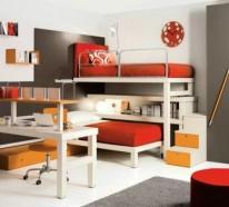 bunte tolle hochbetten f r kinder und erwachsene. Black Bedroom Furniture Sets. Home Design Ideas