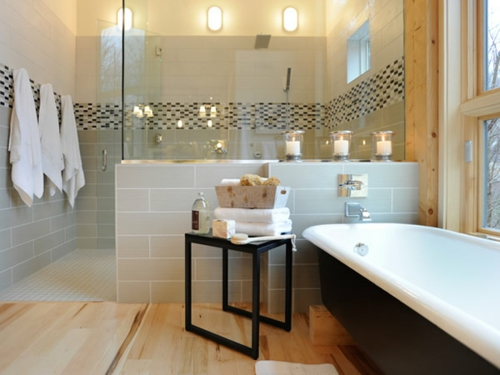 75 coole bilder von badezimmern inspirierende designs How long does a bathroom renovation take