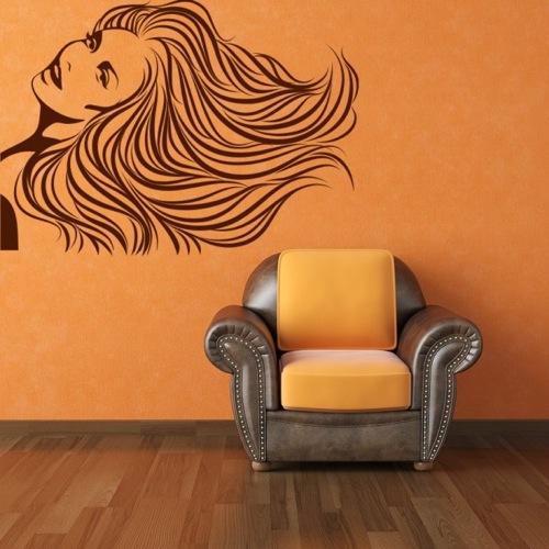 10 lustige ideen f r coole abnehmbare wanddekoration. Black Bedroom Furniture Sets. Home Design Ideas