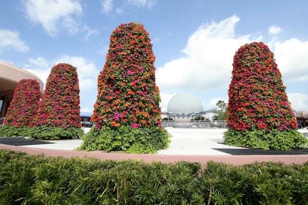 absolut blumige Gartengestaltung die perfekte festival dekoration