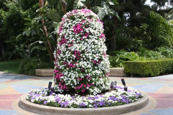absolut blumige Gartengestaltung für die vertikale gestaltung im park