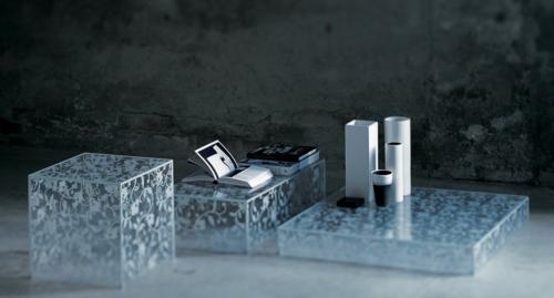 coole designer couchtische glas italia originell geometrische formen
