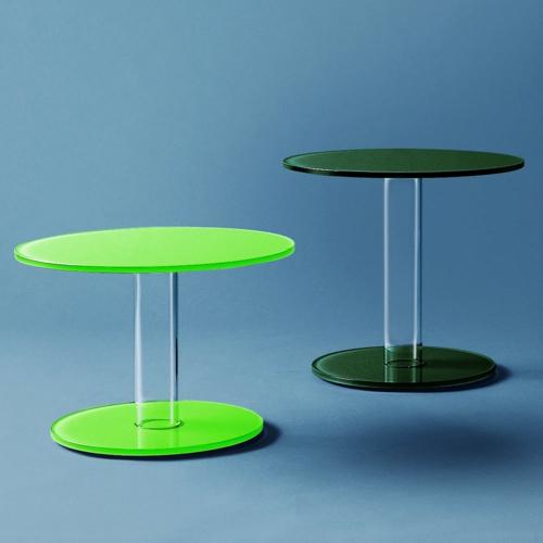 coole designer couchtische grün sockel tischplatte hell dunkel