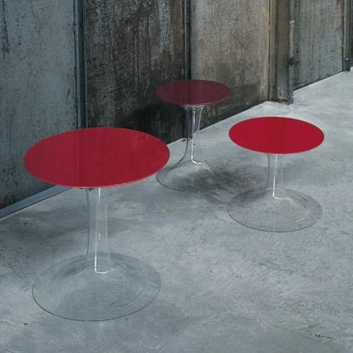 Coole designer couchtische von glas italia attraktive for Designer tischplatten