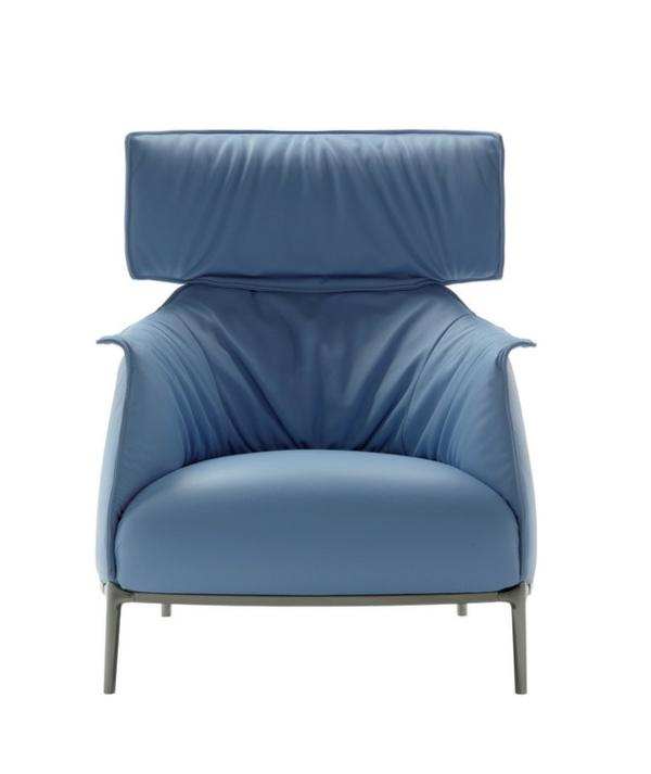 Cooler luxus sessel archibald king von poltrona frau for Sessel bequem