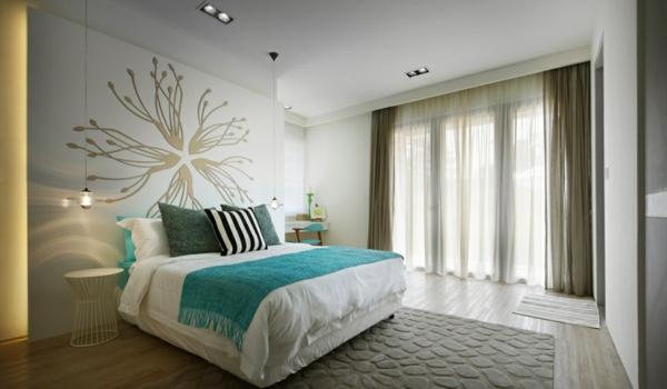 Fantastisch Schlafzimmer Türkis