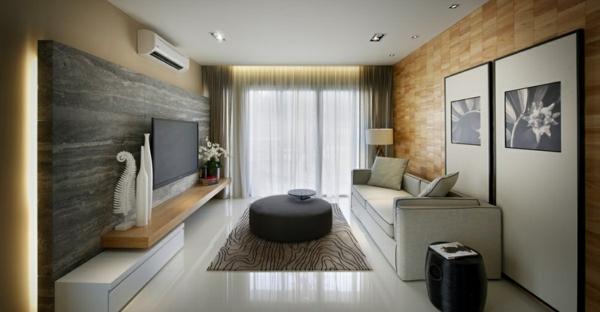 cooles stadthaus design wohnbereich modernes interior