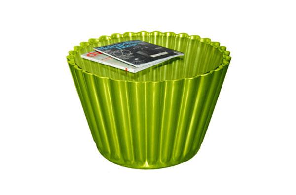 cupcakes möbel designs grün tisch glas tischplatte