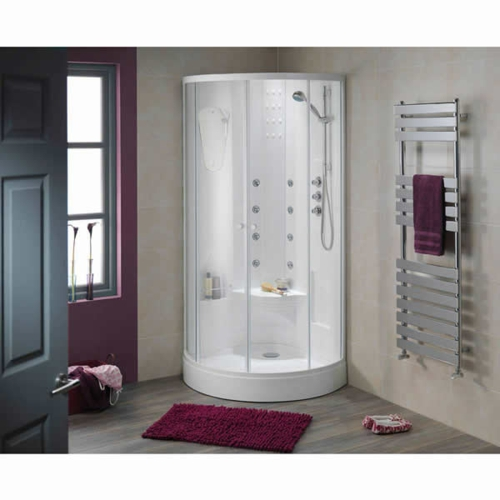 dampfdusche badezimmer feminine einrichtung whirlpool