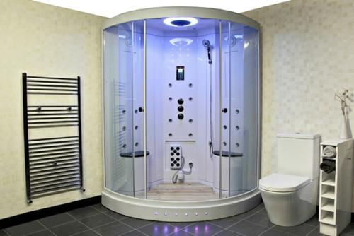 dampfdusche badezimmer schinen tücher wc regale