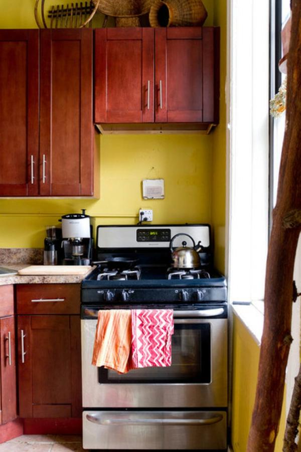 das kleine studio apartment kirschbaumholz küchenausstattung