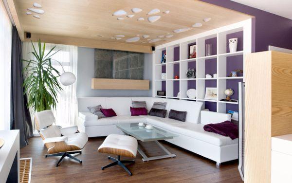Das Zeitlose Eames Lounge Chair Bequem Elegant Raum