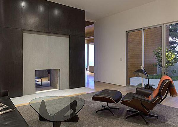 Das Zeitlose Eames Lounge Chair Bequem Grau Schwarz Einrichtung