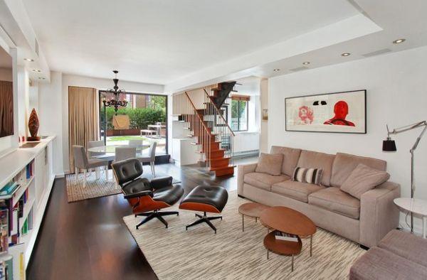 Das Zeitlose Eames Lounge Chair Bequem Sofa Couchtisch Teppich