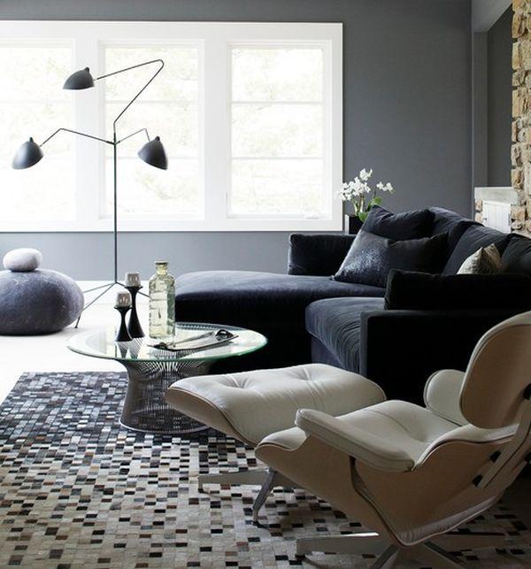 Perfekt Das Zeitlose Eames Lounge Chair Bequem Sofa Stehlampe Interessant