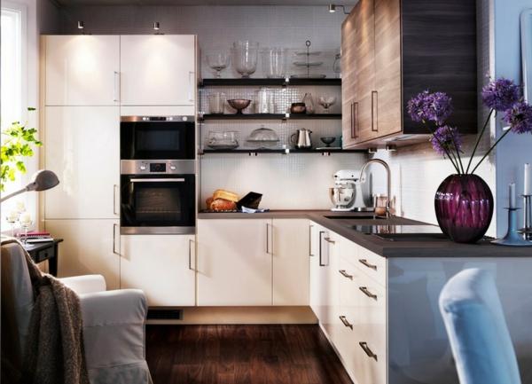 Einrichtungsideen küche modern  Das Zuhause gemütlich einrichten - die Neugestaltung einer Wohnung