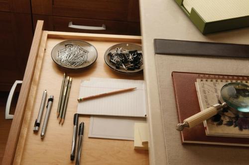 das zuhause schöner einrichten schubladen heft kugelschreiber