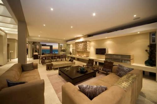 Das wohnzimmer attraktiv einrichten 70 originelle for Moderne deckenbeleuchtung wohnzimmer