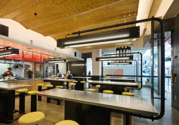 der perfekte sound zu hause restaurant im minimalistischen stil