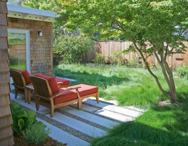 der slow gardening trend bequeme liegen frische luft