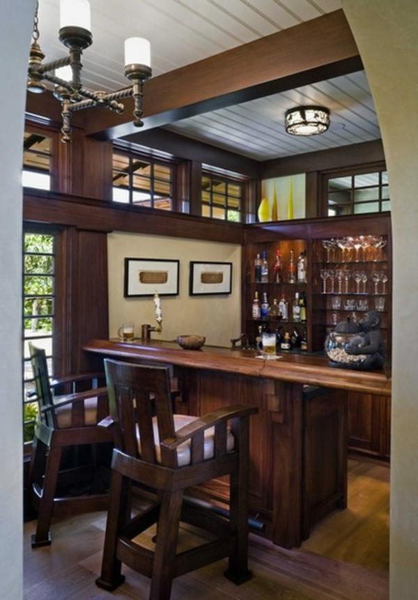 die bar zu hause möbel und theke aus massivem nussbaumholz