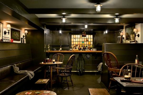 Die bar zu hause eine moderne tradition nicht nur f r m nner - Moderne lounge en voormalig ...
