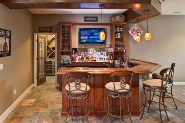 die bar zu hause eine moderne tradition nicht nur f r m nner. Black Bedroom Furniture Sets. Home Design Ideas