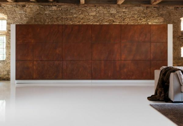 die hidden kitchen tolle tarnung wie doppelte braune wand