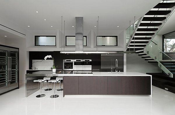 Die Küche neu gestalten - 41 Auffallende Küchen Design Ideen | {Designer küchen mit insel 79}