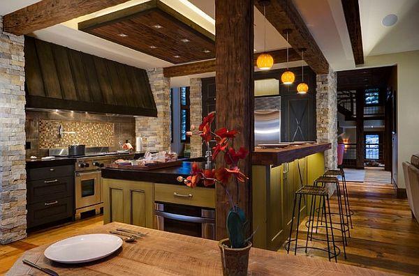 Die Küche Neu Gestalten Modern Beleuchtung Hängelampen