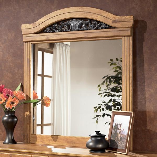 ein spiegel quiz wunderschönes design mit metallornamenten
