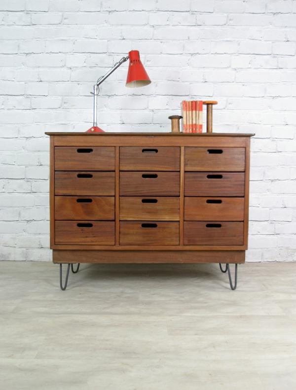 elegante m bel mit haarnadel beinen f r echte vintage liebhaber. Black Bedroom Furniture Sets. Home Design Ideas