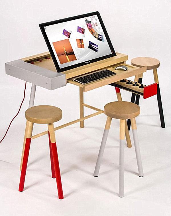 ergonomische m bel und technologie der zukunft. Black Bedroom Furniture Sets. Home Design Ideas