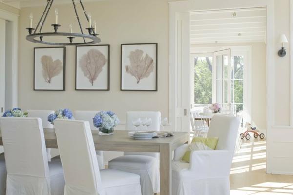 esszimmer dekoration im sommer 10 wundersch ne tipps und. Black Bedroom Furniture Sets. Home Design Ideas