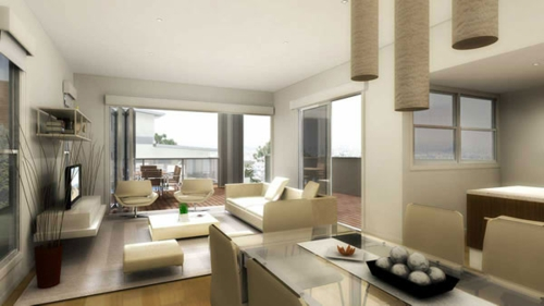 Das wohnzimmer attraktiv einrichten 70 originelle for Einrichtung esszimmer wohnzimmer
