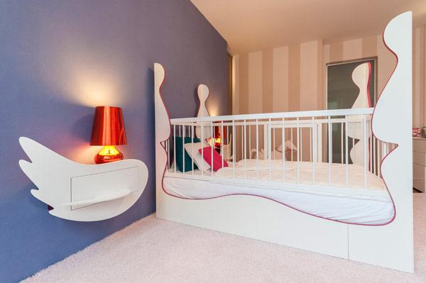 fabelhafte teenager zimmer schlafzimmer bett geländer weiß