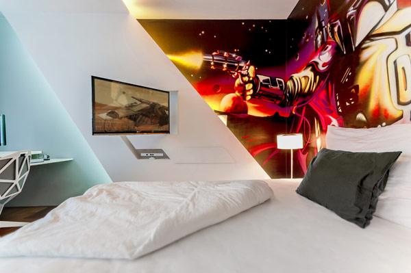 fabelhafte teenager zimmer schlafzimmer indirekte beleuchtung weiß einrichtung