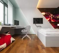 fabelhafte teenager zimmer fesseln den blick mit modernen designs. Black Bedroom Furniture Sets. Home Design Ideas