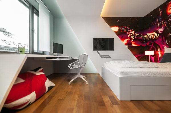 Fabelhafte Teenager Zimmer fesseln den Blick mit modernen Designs