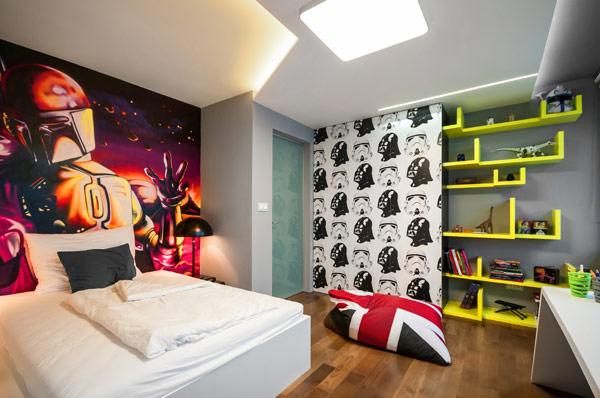 fabelhafte teenager zimmer schlafzimmer popart amerikanisch stil