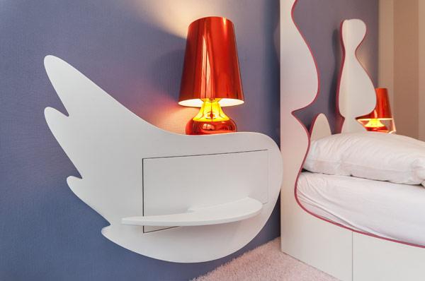 fabelhafte teenager  zimmer schlafzimmer regal nachttischlampe