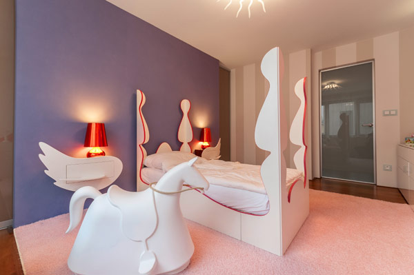 fabelhafte teenager zimmer schlafzimmer rote akzente weiß feminine