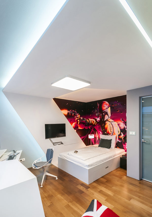 fabelhafte teenager zimmer schlafzimmer weiß eckig interior