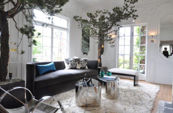 frische akzente setzen sofas und kissen im coolen modernen stil. Black Bedroom Furniture Sets. Home Design Ideas