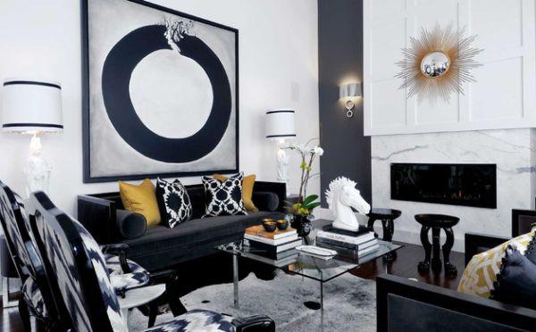 Moderne Kissen frische akzente setzen sofas und kissen im coolen modernen stil