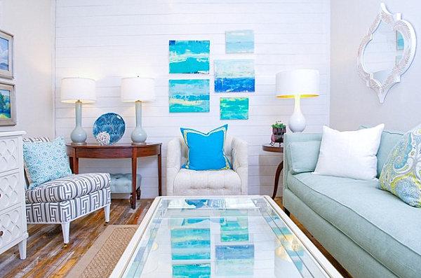 5 Tipps Und 17 Frische Interior Designs - Sommerstimmung Zu Hause 17 Kissen Designs Gute Laune Sommer