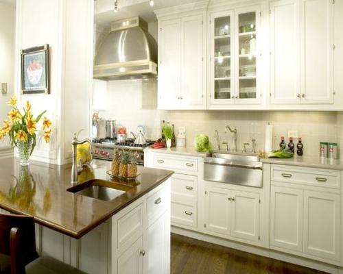 frisches design küche idee glanzvoll holz oberfläche lackiert