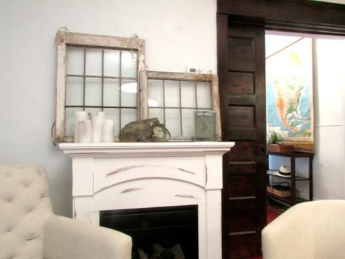 interessantes interieur design in einem traditionellen haus einbaukamin