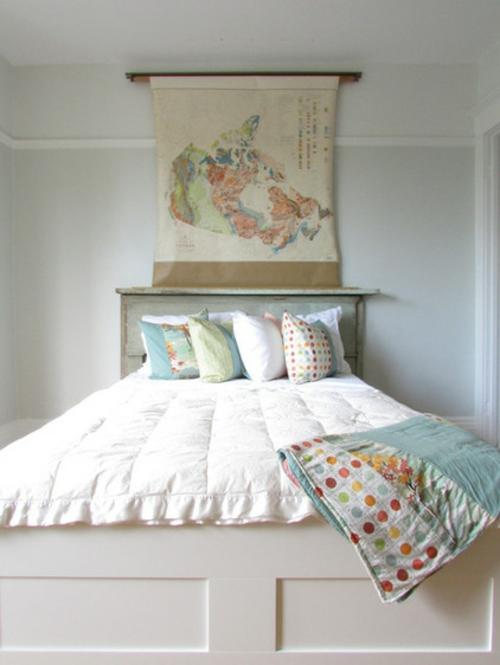 frisches interieur design in einem traditionellen haus schlafzimmer