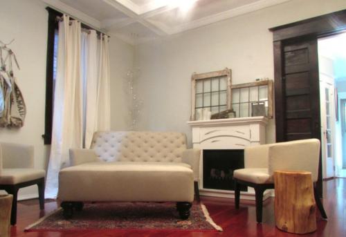 frisches interieur design in einem traditionellen haus sofa sessel